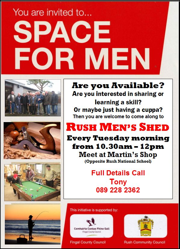 Men's shed website picture