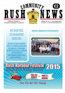 July August 2015 front page