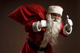Christmas Lights being turned on and Santa arriving to Rush this Saturday