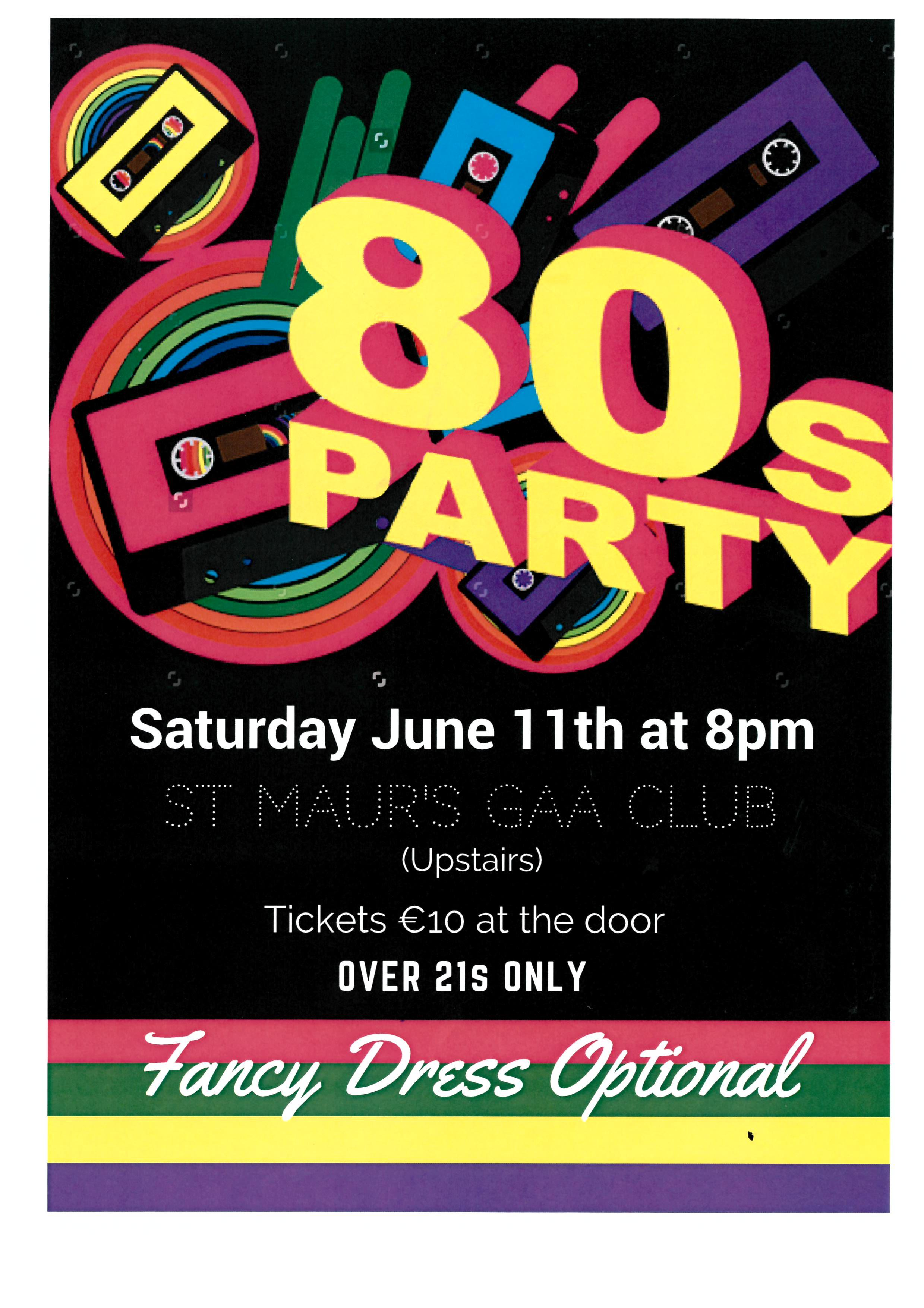80s Party!