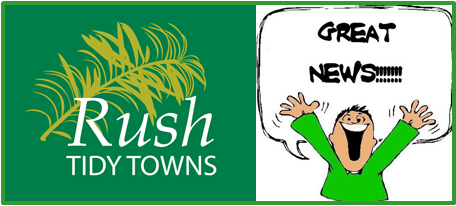 Rush Tidy Towns Secures Funding - 2018 Capital Works Programme