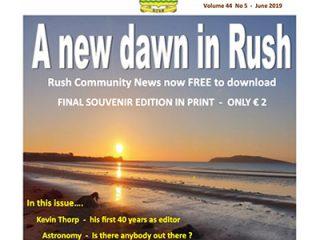 Rush Community News - A new dawn