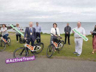Bleeper bike-sharing scheme brought to Rush
