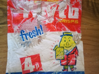 Rush residents discover old Tayto crisp packet - can you guess how old it is?